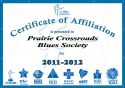 [Blues Foundation Certificate of Affiliation]