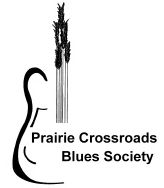 [Prairie Crossroads Blues Society Logo]